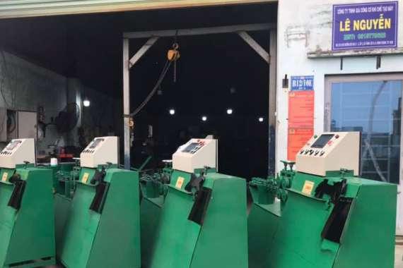 Giới thiệu về máy bẻ đai sắt tự động Lê Nguyễn