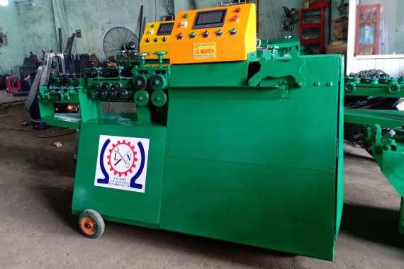 Bàn giao hướng dẫn sử dụng máy bẻ đai sắt ở Đồng Nai