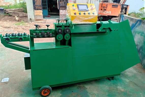 Giao máy uốn đai sắt cho khách tại Quảng Ngãi