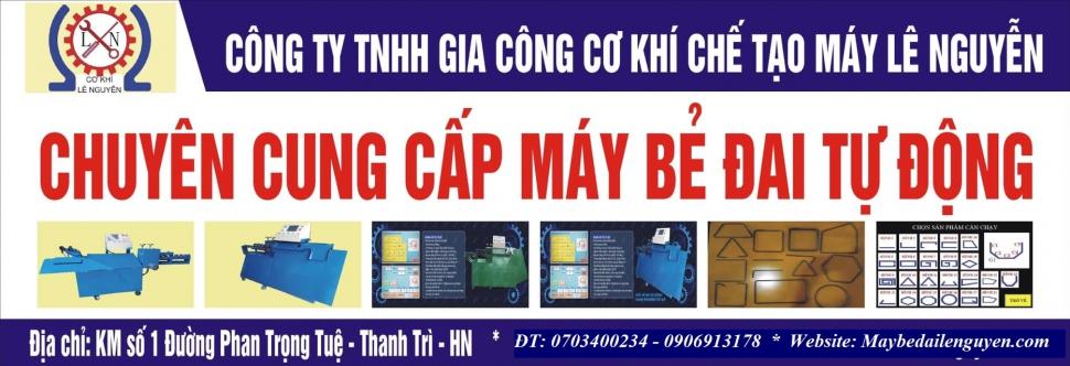 Đơn vị bán máy bẻ đai thép uy tín tại Hà Nội