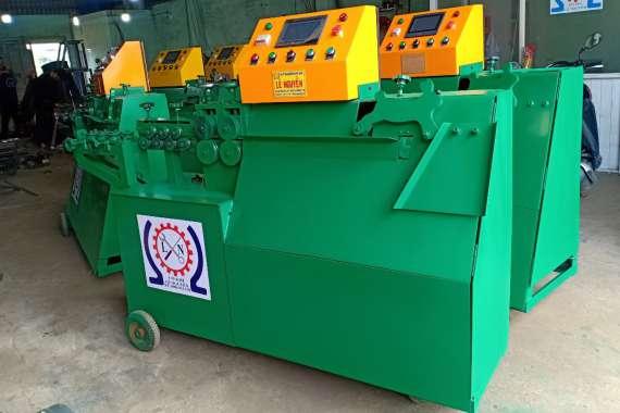 Bàn giao máy bẻ đai xây dựng tại Khánh Hòa