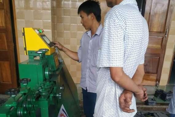 Mua máy bẻ đai sắt giá rẻ tại Quảng Bình