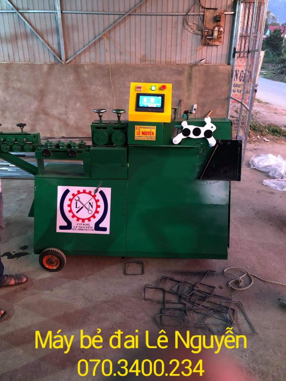 Máy bẻ đai sắt mini tại Lâm Đồng giá cực sốc