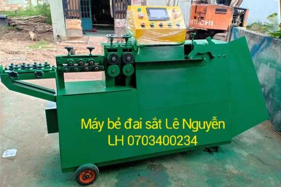Giao máy bẻ đai sắt xây dựng phi 6-8-10 tại Lâm Đồng
