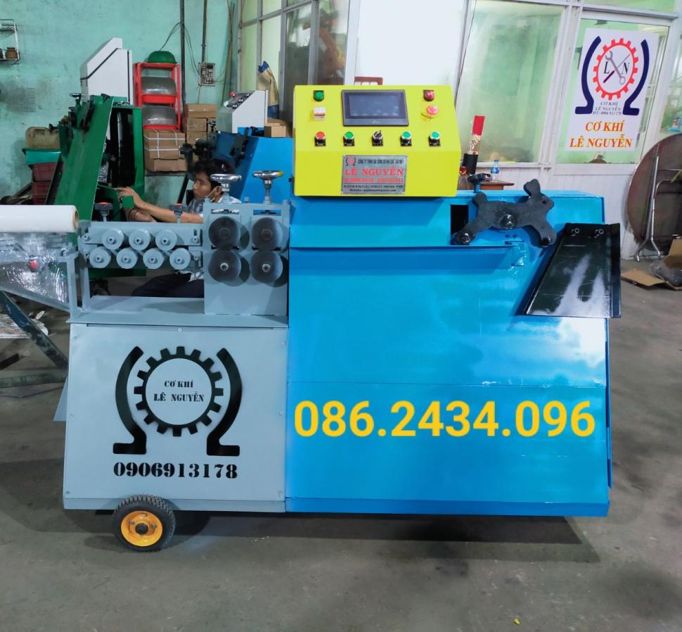 Giao máy bẻ đai sắt tự động tốc độ cao tại Long An