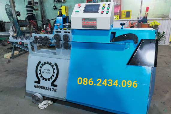 Máy bẻ đai sắt mini giá rẻ tại Rạch Giá - Kiên Giang