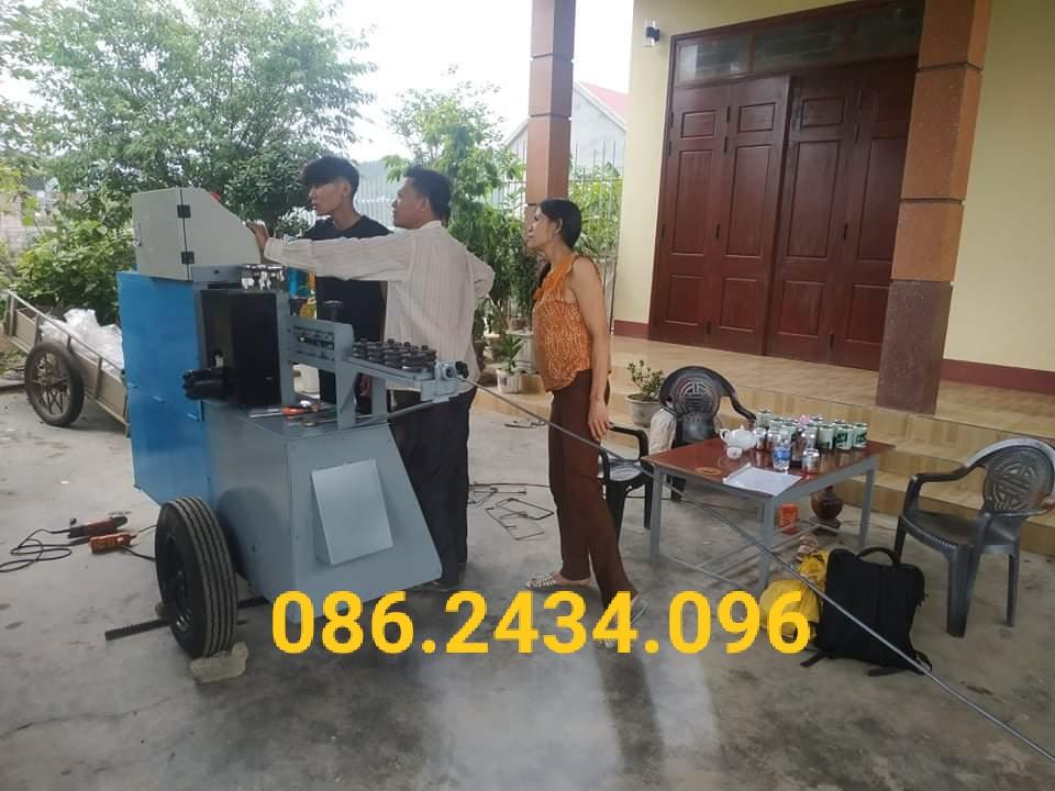 Máy bẻ đai thép tự động giá rẻ tại Quảng Bình