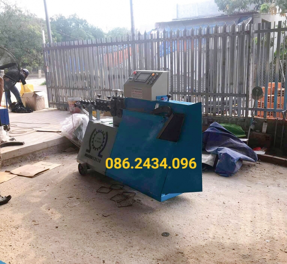Bàn giao máy bẻ đai tại Khánh Hòa giá tốt nhất thị trường