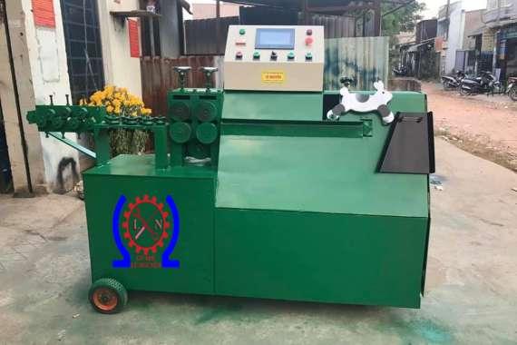 Bàn giao máy uốn đai sắt xây dựng tại Bình Thuận