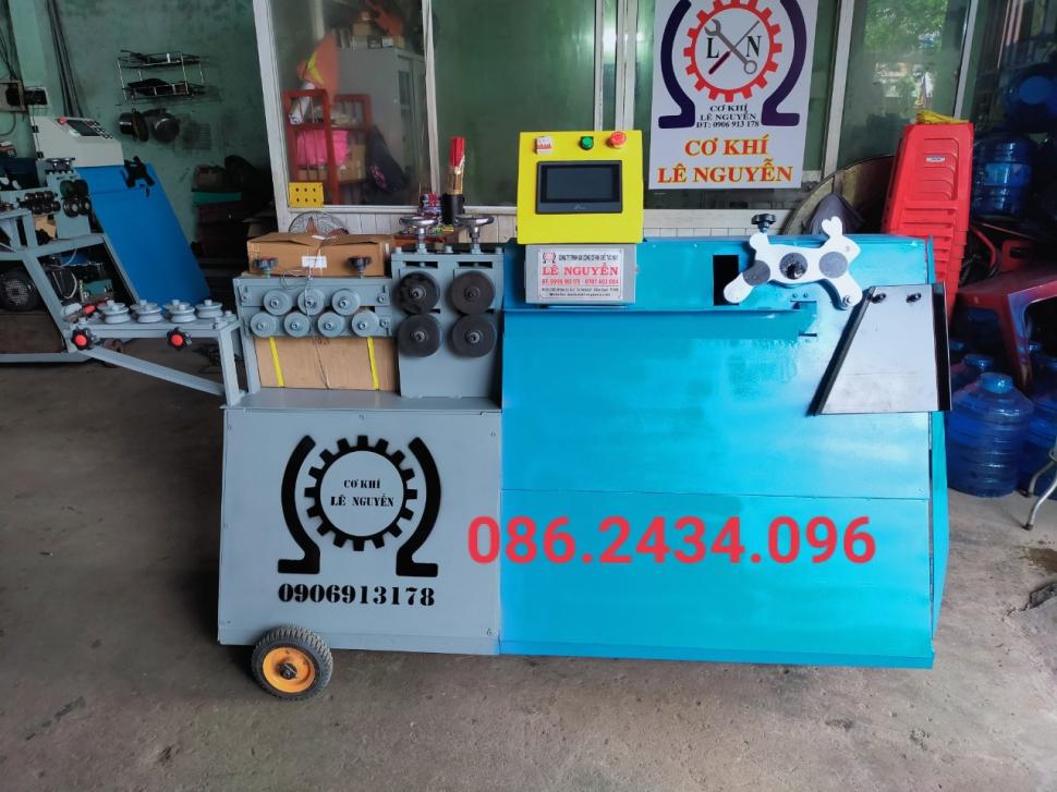 Hướng dẫn sử dụng máy bẻ đai sắt tự động Lê Nguyễn hiệu quả