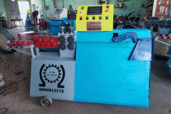 Giao máy bẻ đai sắt phi 10 tại Lâm Đồng của công ty Lê Nguyễn