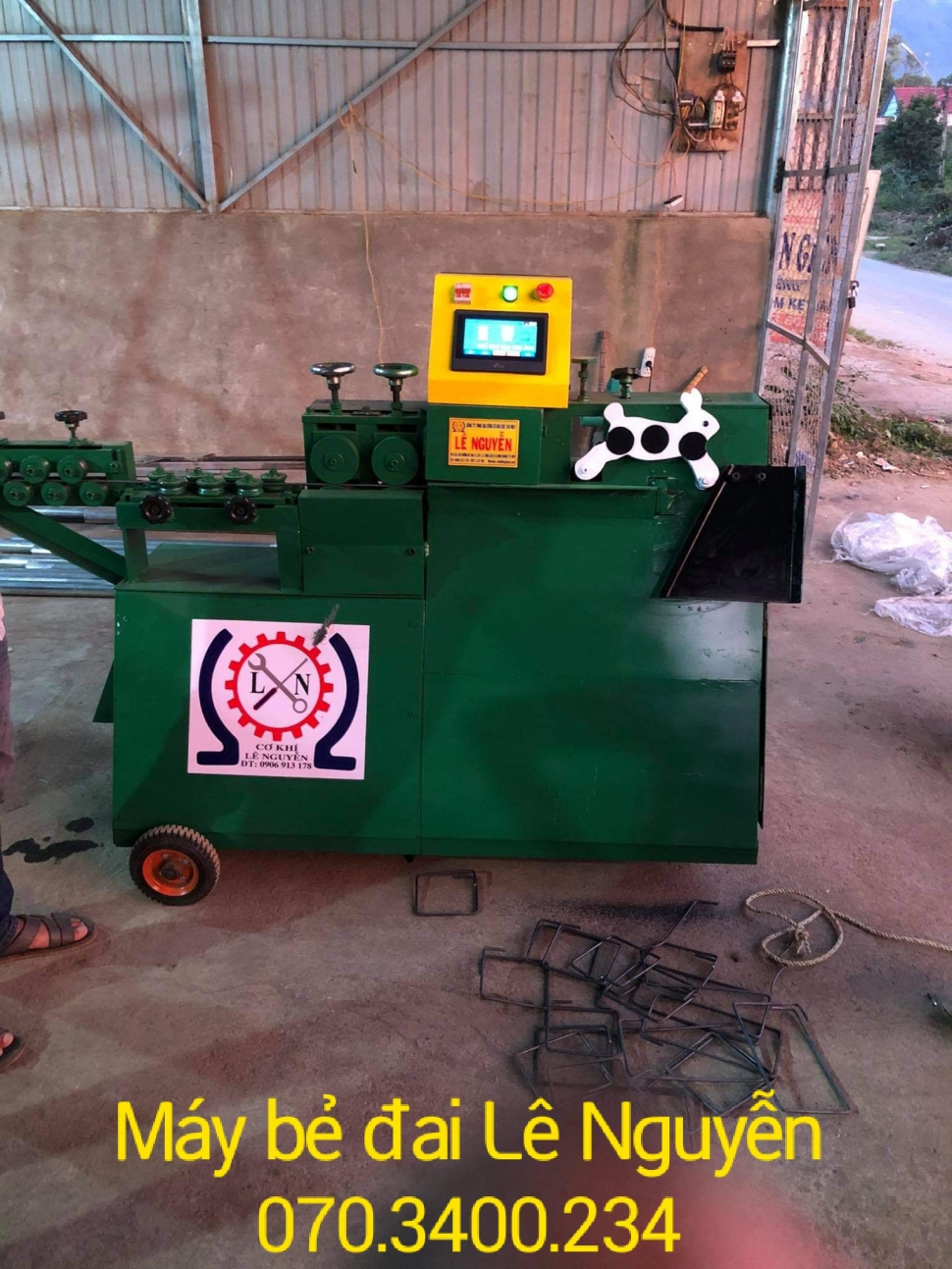 Máy bẻ đai sắt tự động giá rẻ tại Đắk Lắk