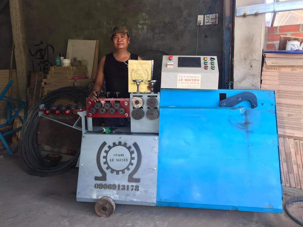 Máy bẻ đai sắt tại An Nhơn - Bình Định giá tốt nhất