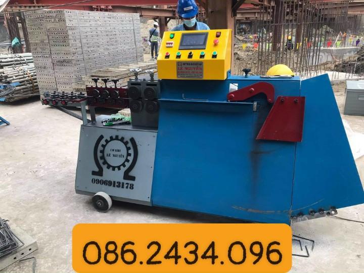 Giao máy bẻ đai sắt tự động tại Biên Hòa - Đồng Nai